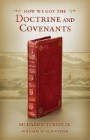 Cover image for How we got The Doctrine and Covenants
