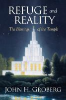 Cover image for Refuge and reality : the blessings of the temple