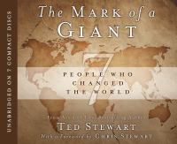 Cover image for The mark of a giant [sound recording CD] : 7 people who changed the world