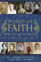 Cover image for Women of faith in the latter days. Volume 3, 1846-1870