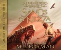 Cover image for Sands of Nezza. bk. 4 Adventurers wanted series