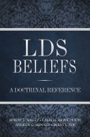 Cover image for LDS beliefs : a doctrinal reference