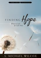 Cover image for Finding hope : where to look for God's help