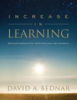 Imagen de portada para Increase in learning