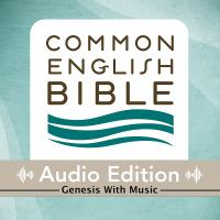 Cover image for CEB common english bible audio edition with music - Genesis