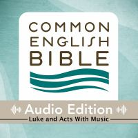 Cover image for CEB common english bible audio edition with music - Luke and Acts