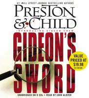 Cover image for Gideon's sword