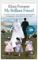 Cover image for My brilliant friend Neapolitan Series, Book 1.