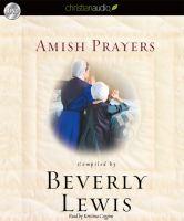 Imagen de portada para Amish prayers