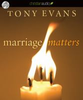 Cover image for Marriage matters