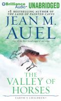 Cover image for The valley of horses. bk. 2 Earth's children series