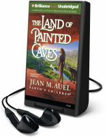 Cover image for The land of painted caves. bk. 6 Earth's children series