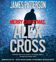 Cover image for Merry Christmas, Alex Cross. bk. 19 Alex Cross series