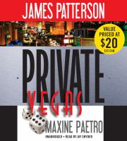 Cover image for Private Vegas. bk. 9 [sound recording CD] : Private series