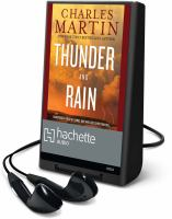 Cover image for Thunder and rain [Playaway]