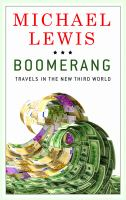 Cover image for Boomerang travels in the new third world
