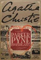 Cover image for Parker Pyne investigates
