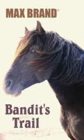 Cover image for Bandit's trail a western story