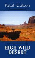 Cover image for High wild desert
