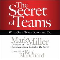 Cover image for The secret of teams [what great teams know and do]