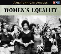 Cover image for Women's equality American chronicles series