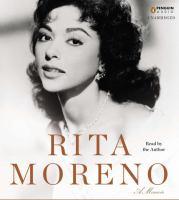 Cover image for Rita Moreno a memoir