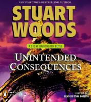 Imagen de portada para Unintended consequences. bk. 26 Stone Barrington series