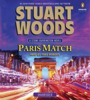 Cover image for Paris match. bk. 31 Stone Barrington series