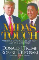 Cover image for Midas touch : why some entrepreneurs get rich-- and why most don't
