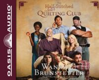 Cover image for The half-stitched Amish quilting club. bk. 1 Half-stitched Amish quilting club series
