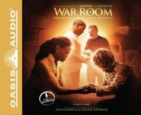 Cover image for War room [prayer is a powerful weapon]
