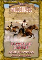 Imagen de portada para Flames of justice Wilderness Series, Book 42.