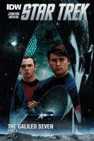 Cover image for The Galileo Seven. Part 1 [graphic novel] : Star Trek series