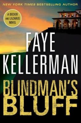 Cover image for Blindman's bluff. bk. 18 [large print] : Peter Decker/Rina Lazarus series