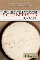 Cover image for The 100 most influential scientists of all time