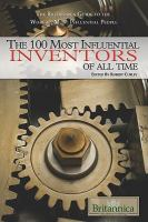 Cover image for The 100 most influential inventors of all time