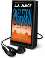 Cover image for Skeleton canyon. bk. 5 Joanna Brady series