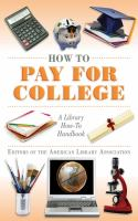 Cover image for How to pay for college a library how-to handbook