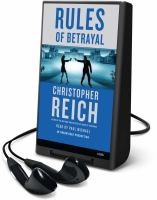 Cover image for Rules of betrayal. bk. 3 Jonathan Ransom series