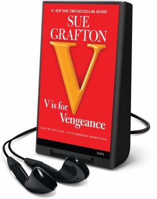 """Cover image for """"V"""" is for vengeance. bk. 22 Kinsey Millhone series"""