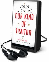 Cover image for Our kind of traitor a novel