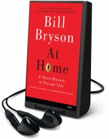 Cover image for At home a short history of private life