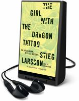 Cover image for The girl with the dragon tattoo. bk. 1 Millennium series