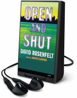 Cover image for Open and shut. bk. 1 Andy Carpenter series