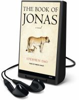 Cover image for The book of Jonas a novel