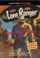 Cover image for The lone ranger. Six gun hero [sound recording CD]
