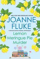 Cover image for Lemon meringue pie murder Hannah Swensen Series, Book 4.