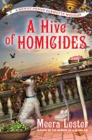 Cover image for A hive of homicides. bk. 3 : Henny Penny Farmette series
