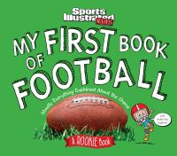 Cover image for My first book of football