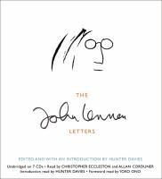Cover image for The John Lennon letters